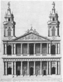 Saint-Sulpice west facade second design 1736 by Servandoni - Kalnein 1995 p112.png