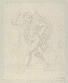 Saint Christopher walking with the infant Christ on his left shoulder, counterproof MET DP838612.jpg