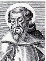 An engraving of Irenaeus, bishop of Lugdunum in Gaul