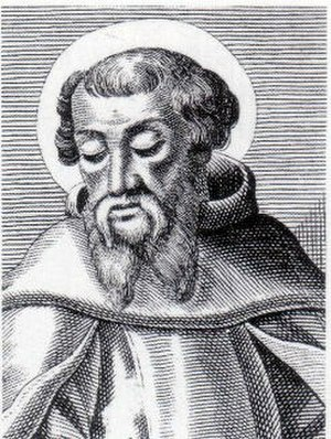 Irenaeus - An engraving of St Irenaeus, Bishop of Lugdunum in Gaul (now Lyon, France)
