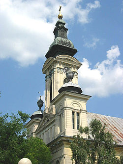Saint Michael the Archangel Catholic Church in Odžaci, Vojvodina, Serbia - 20060602.jpg