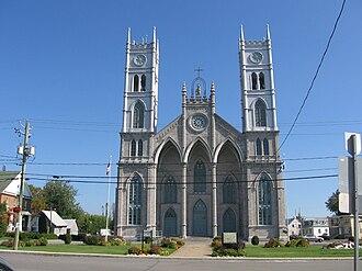Sainte-Anne-de-la-Pérade - Image: Sainte Anne de la Pérade church