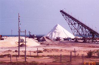 Manaure, La Guajira - Salt mines in Manaure, La Guajira