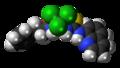Salubrinal molecule spacefill.png