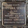 Salzburg - Elisabeth-Vorstadt - Fanny-von-Lehnert-Straße 6 - Stolperstein Ernst-Paul Stoiber.jpg