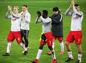 Salzburg FC gegen Borussia Dortmund (EL Achtelfinale Rückspiel 15. März 2018) 01.jpg