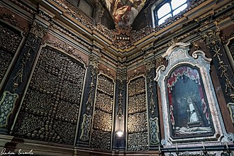 Ossuary - The ossuary of San Bernardino alle Ossa in Milan.