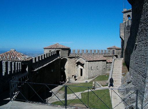 San Marino fortezza
