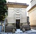 San vincenzo, cimitero, cappella cirri-bruno, 1926, 01.jpg