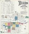 Sanborn Fire Insurance Map from Dixon, Lee County, Illinois. LOC sanborn01827 004-1.jpg