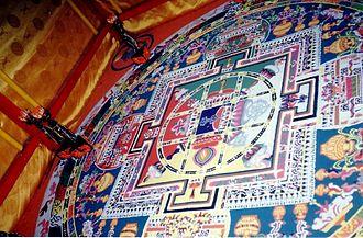 Tibetan Buddhism - A sand mandala