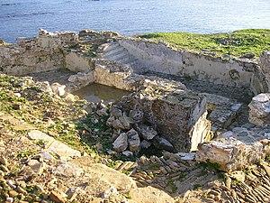 Fuerte de San García - the remains of the Fuerte de San García