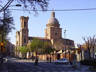 Sant Andreu - Church on Plaça Orfila, the centre of Sant Andreu.