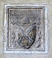 Santa croce, loggiato sud, stemma pimerani.JPG