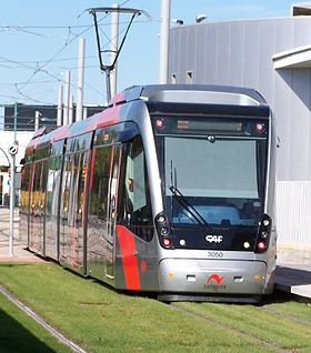 Image illustrative de l'article Tramway de Saragosse