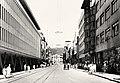 Sarajevo Tram Ulica-Marsala-Tita 1950s.jpg