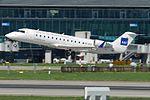 Scandinavian Airlines - SAS (Cimber Air) Canadair CRJ-100LR (CL-600-2B19) OY-RJI (22281153911).jpg