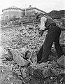 Scheveningen, het slopen van de bunkers en versperringen, Bestanddeelnr 900-9453.jpg