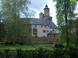 County of Isenburg - Büdingen Castle