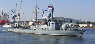Gepard-class fast attack craft - Image: Schnellboot P6121