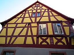 Schriesheim Giebel Wiederholtsches Haus