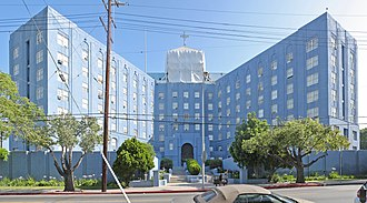 Scientology in the United States - The Scientology building in Los Angeles.