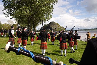 The Royal Scottish Pipe Bands Championships, Dumbarton Scottish Pipe Band Championships 2005.jpg