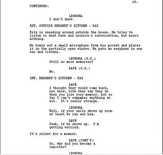 Screenwriting Art and craft of writing screenplays