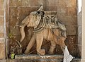 Sculpture of elephant, Palitana.jpg