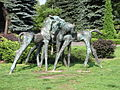 Sculptures in the Silesian Zoological Garden 02.JPG