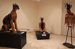 Le sculture tessili di Sylvie Clavel