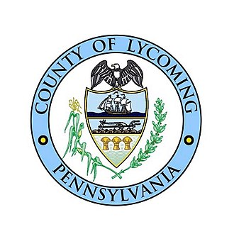 Lycoming County, Pennsylvania - Image: Seal of Lycoming County, Pennsylvania