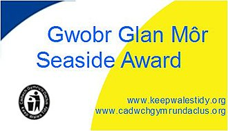 Keep Wales Tidy - The Seaside Award logo