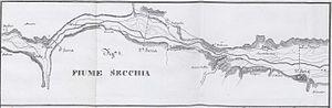 Secchia - Secchia in 1847