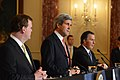 Secretary Kerry, Canadian Foreign Minister Baird, and Mexican Foreign Secretary Meade Address Reporters at the North American Trilateral Ministerial (11998304456).jpg