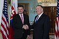 Secretary Pompeo Meets With Slovak Foreign Minister Lajcak (48943373792).jpg