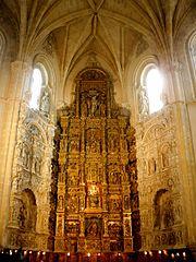 Retablo del monasterio de El Parral
