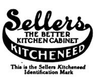 Old Logo Saying Sellers Kitcheneed