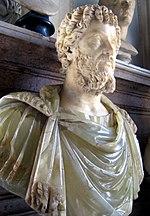Busto di Settimio Severo, ricostruttore di Bisanzio nel 196 d.C.