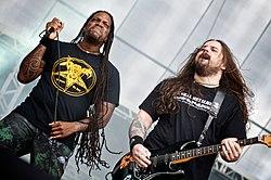 Sepultura live beim Maquinária Festival in São Paulo, 2009
