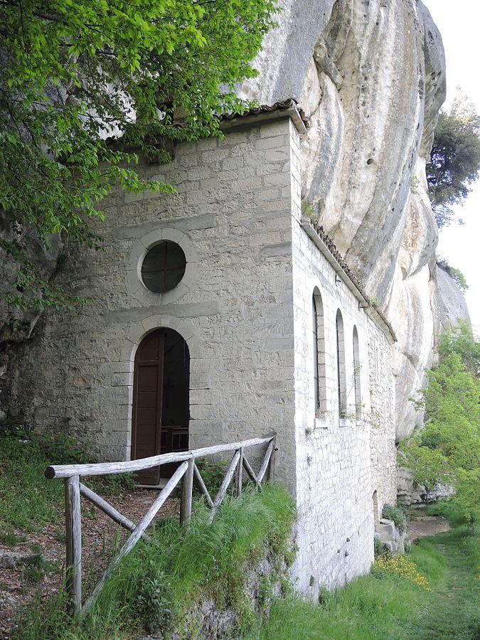 Hermitage of Sant'Onofrio, Serramonacesca