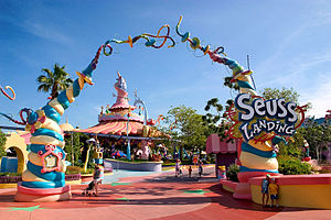 Suess Landing at Universal Studios' Islands of...
