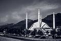 Shah Faisal Mosque isb Black n White.jpg