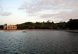 El-Gölü - Image: Shah Goli and Pars hotel