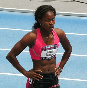 Shalonda Solomon - Solomon during the 2010 USATF Championships