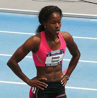 Shalonda Solomon American sprinter