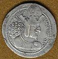 Shapur I Sassanid silver coin.JPG