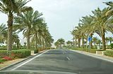 Sheikh Zayed Grand Mosque, the entrance to the parking area..JPG