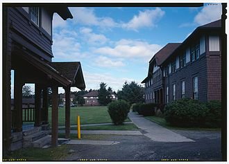 Sitka Fine Arts Camp - Sheldon Jackson College in the summer of 1991 in a Historic American Buildings Survey photograph