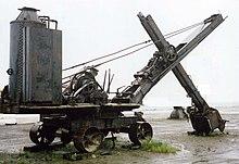 vecchie escavatrici a vapore le origini 220px-Shovel1